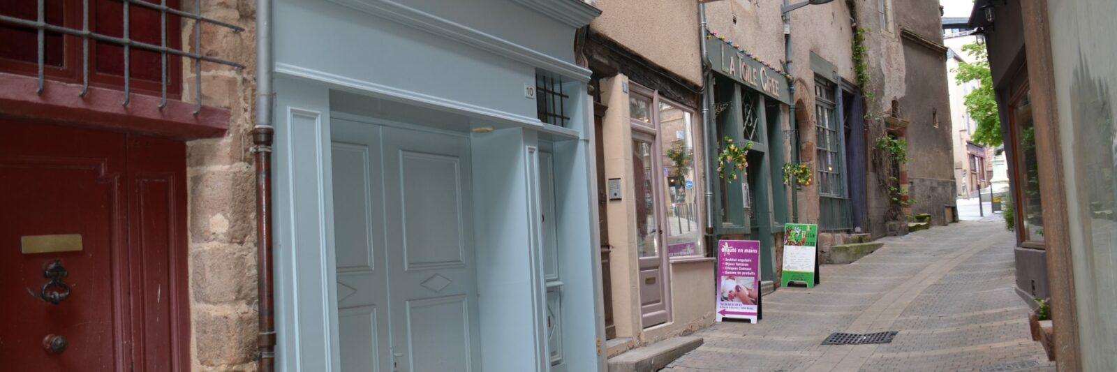 Rue de la barrière, Rodez