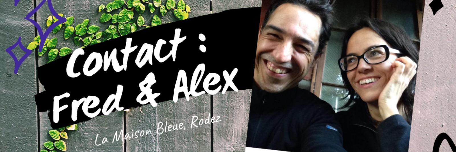 Contact La Maison bleue à Rodez